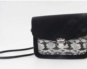 Crossbody tas snakeprint